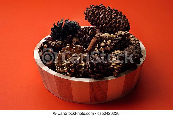 Scented Pinecones - csp0420228