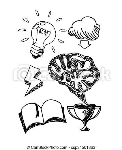 Scetch Hand Drawn New Idea In Notebook Scetch Hand Drawn New Idea