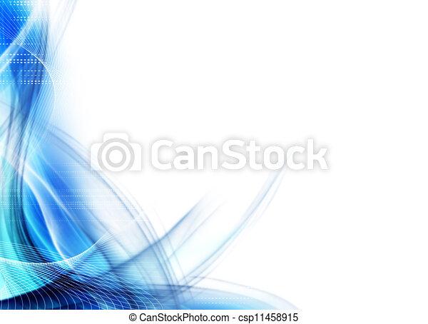 schöne , abstrakt, umrandungen - csp11458915
