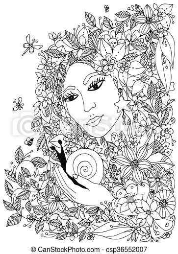 Ausgezeichnet Realistische Schnecke Färbung Seite Galerie - Ideen ...