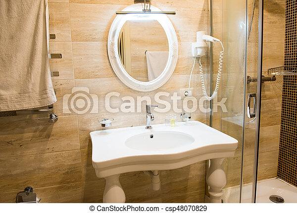 Schone Dusche Badezimmer Luxus Glas