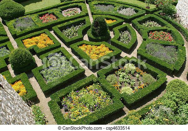 Schone Garten Dekorativ Skala Kleingarten Palast Pieskowa Polen