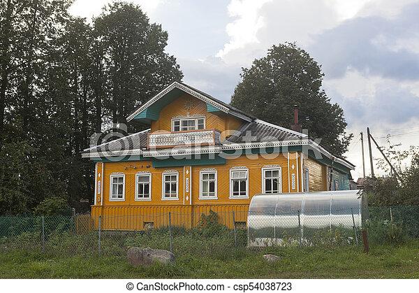 Schone Haus Gewachshaus Dorf Schone Haus Vologda Nyuksensky