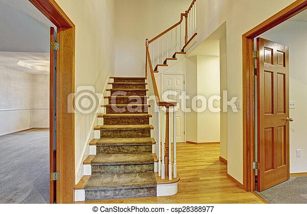 Schone Hauseingang Treppe Schone Eingang Hartholz Haus