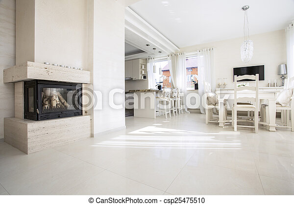 Schöne Inneneinrichtung Wohnung Modern