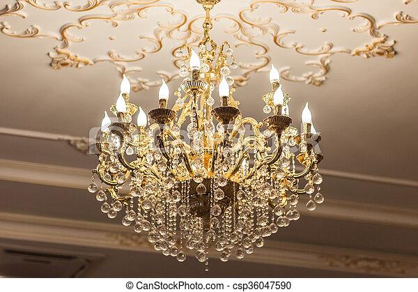 Kristall Kronleuchter Mit Schirm ~ Casa padrino barock kristall kronleuchter flammig weiß creme Ø