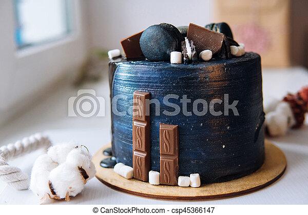 Schöne , Kuchen, Entwerfer, Kakau