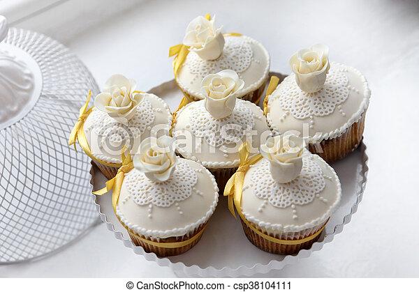 Schöne , Kuchen, Wedding   Csp38104111