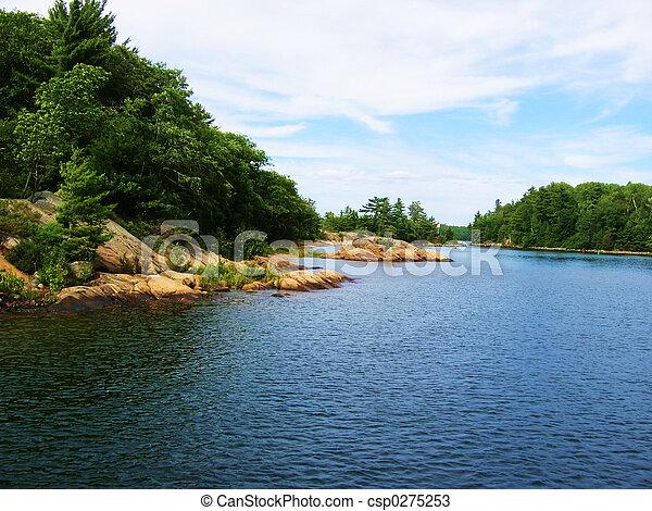 schöne , landschaftsbild - csp0275253