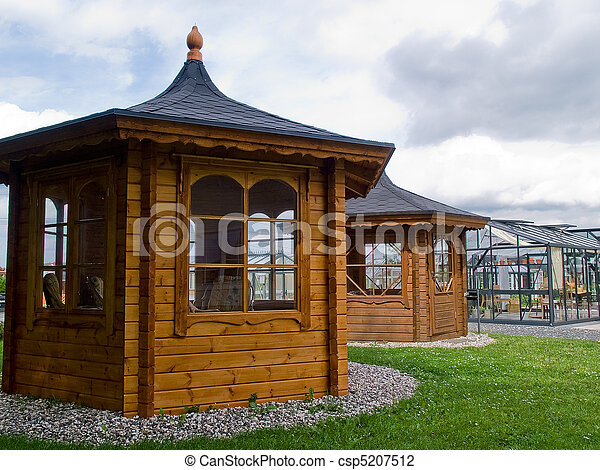 sch ne pavillon kleingarten klassisch glas holz design gazebo m bel. Black Bedroom Furniture Sets. Home Design Ideas