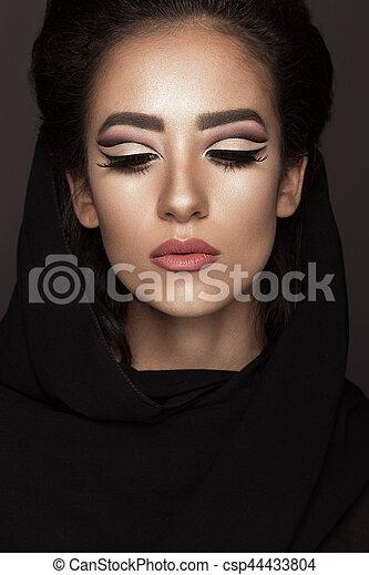Schone Schoenheit Face Araber Orientalische Make Up Mi