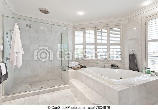 Schöne , villa, badezimmer, modern, australische. Schöne ...