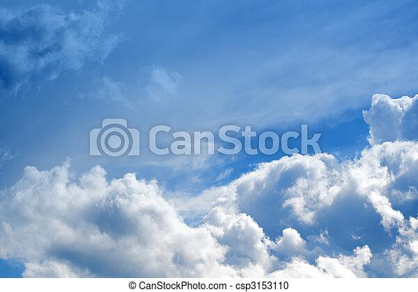 Schöne Wolken - csp3153110