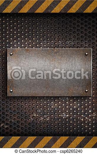 schaaltje, metaal, mal - csp6265240
