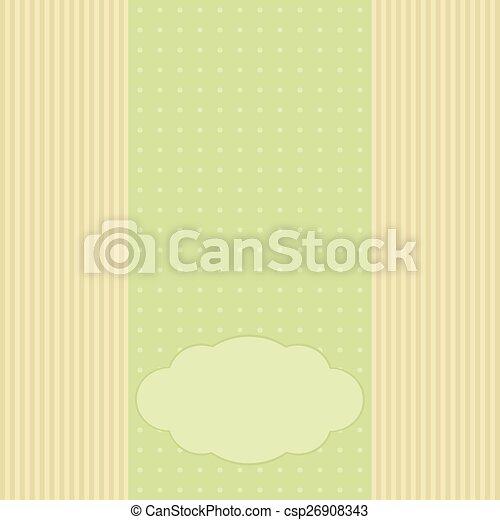 schablone, einladung, karte, gruß, romantische  - csp26908343