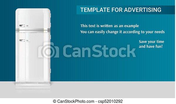 Kühlschrank Vintage Design : Schablone hintergrund weinlese kühlschrank abbildung beispiel
