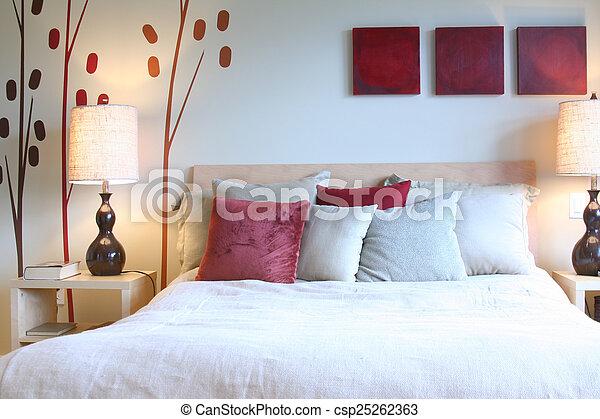 Schlafzimmer - csp25262363