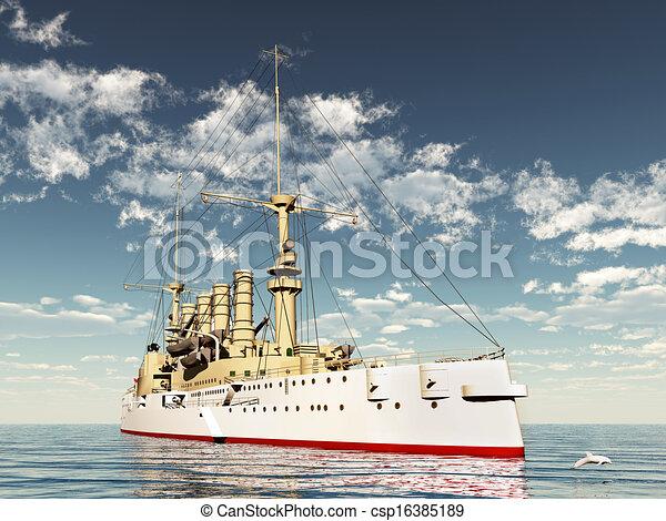 SMS Scharnhorst - csp16385189