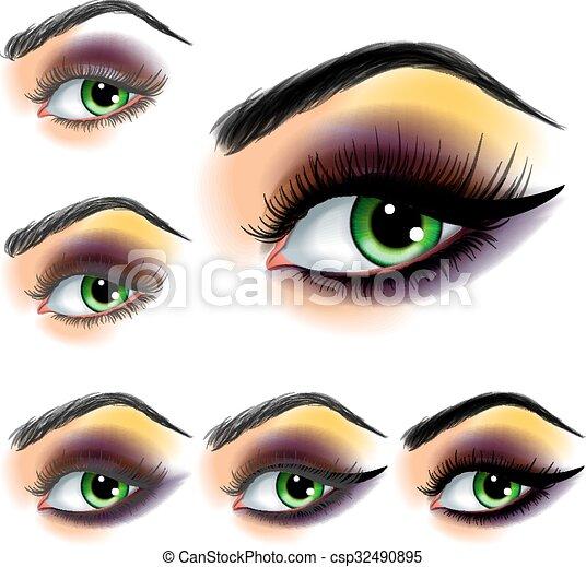 Augenschatten - csp32490895