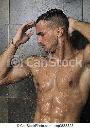 schwule duschen