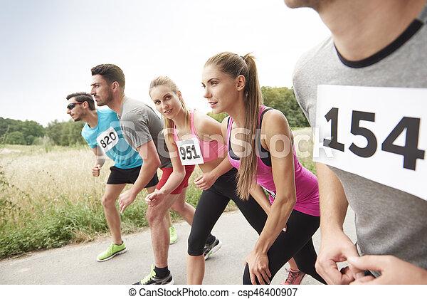 Der größte Marathon-Rival - csp46400907