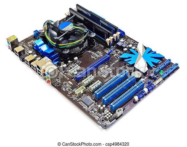 scheda madre, computer - csp4984320