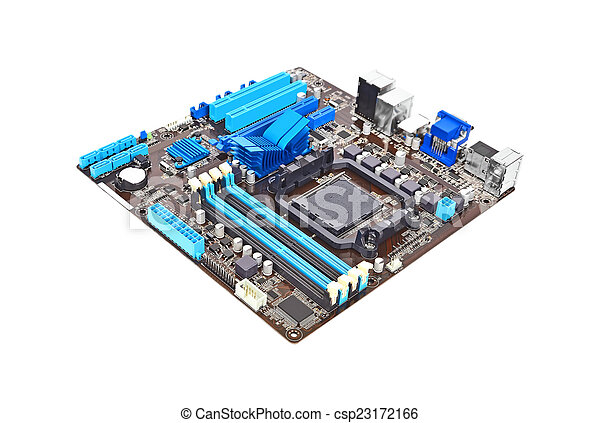 scheda madre, computer - csp23172166