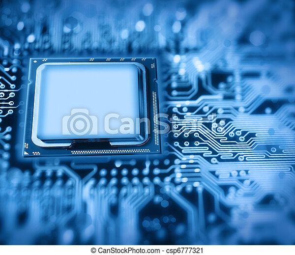 scheda madre, processore - csp6777321