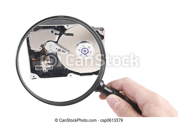 Harte Disc-Untersuchung - csp0613379