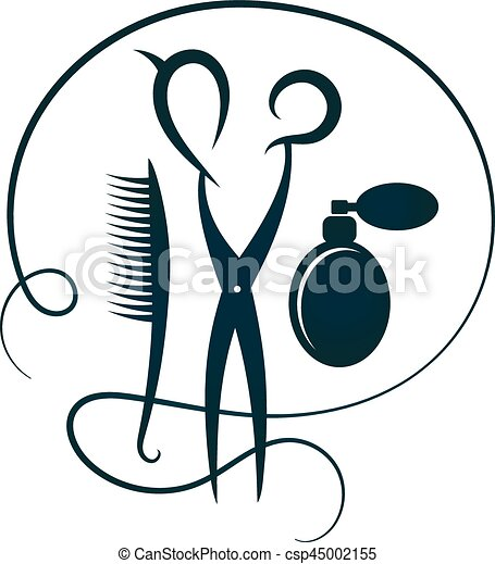 schere  friseure  silhouette  haarb u00fcrste salon hair salon clip art images hair salon clip art black and white