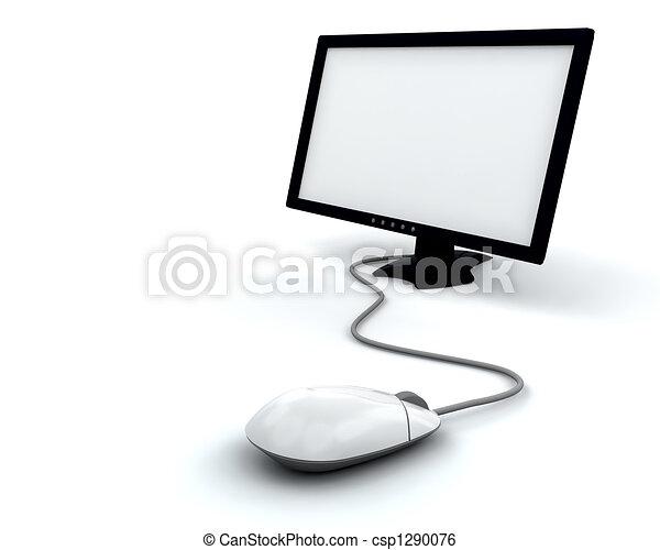 schermo, computer - csp1290076