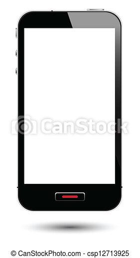 schermo, smartphone - csp12713925