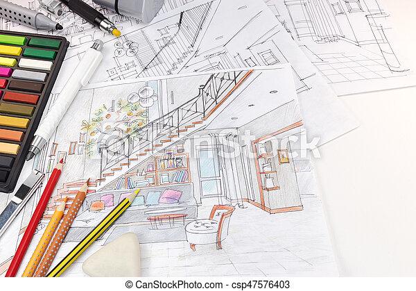 https://comps.canstockphoto.nl/schetsen-woonkamer-bureau-interieur-stockfotografie_csp47576403.jpg