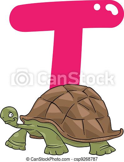 schildpad, t - csp9268787