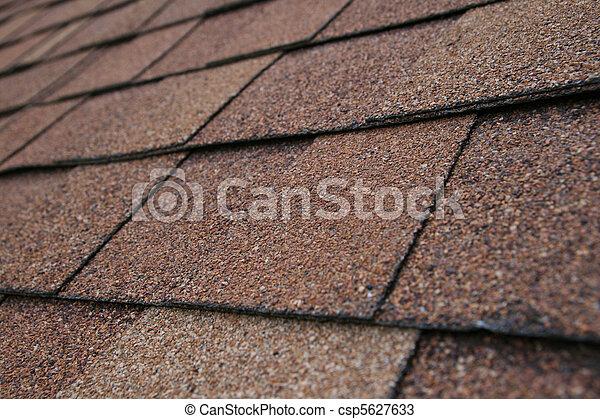 Roof Shingle Detail - csp5627633