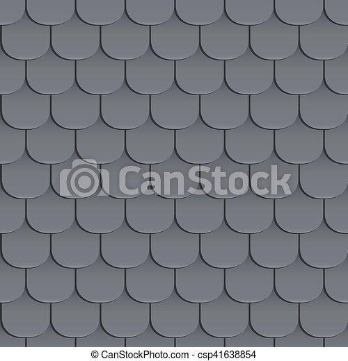 schindeln kunststoff verlegen seamless dach muster vektor klassisch pattern clipart csp41638854