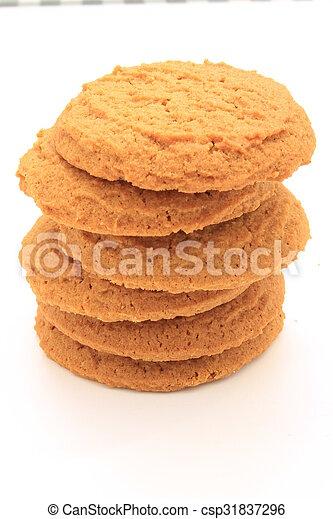 schiocco, biscotti, zenzero - csp31837296
