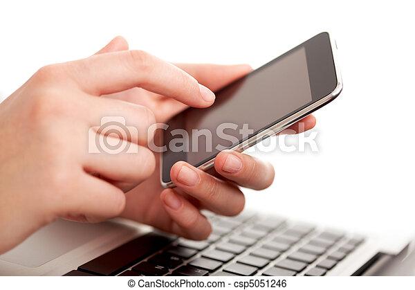 Touching-Screen - csp5051246