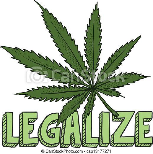 schizzo, legalize, marijuana - csp13177271