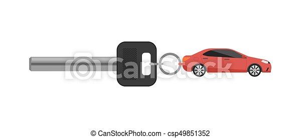 Schlüssel, auto, begriff, miete, geschaeftswelt. Servicemiete, stadt ...