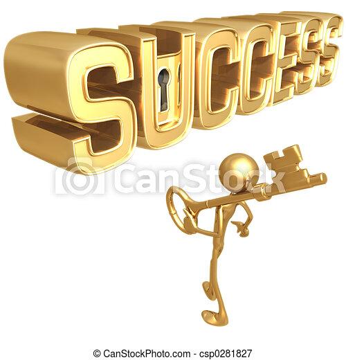 Schlüssel zum Erfolg - csp0281827