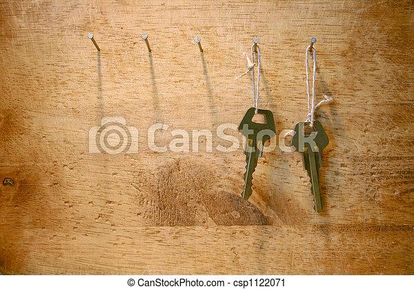 Zwei Schlüssel - csp1122071