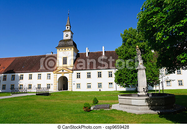 schleissheim, palacio, alemania - csp9659428
