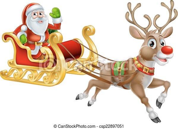 schlitten weihnachten santa clipart kinderschlitten. Black Bedroom Furniture Sets. Home Design Ideas