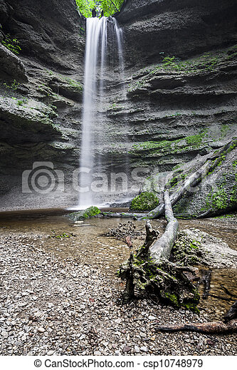 Paehler Schlucht cascada - csp10748979