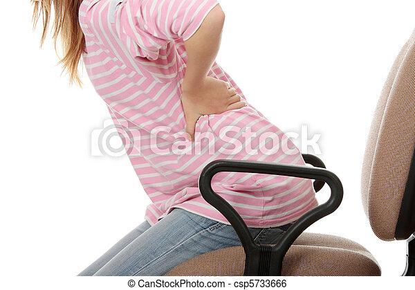 Rückenschmerzen - csp5733666
