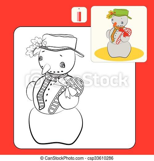 Ungewöhnlich Schneemann Färbung Seite Bilder - Beispiel ...