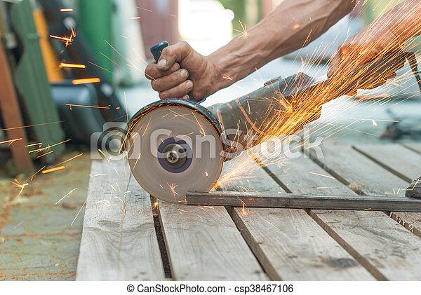 Schneiden Metall Elektrisch Mechaniker Saw
