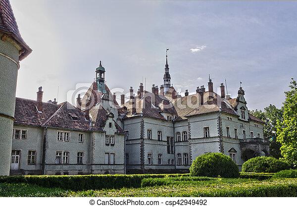 Schonborn hunting castle - csp42949492