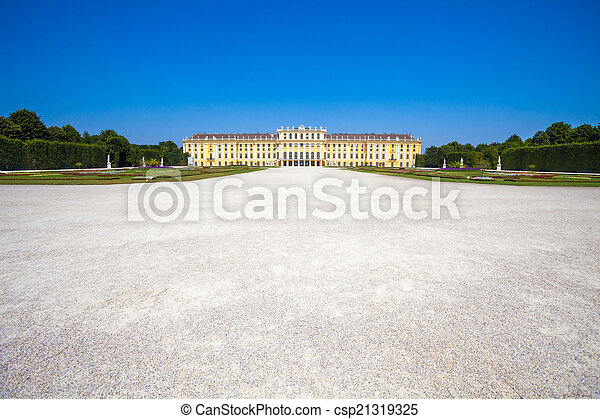 Schonbrunn Palace royal residence - csp21319325